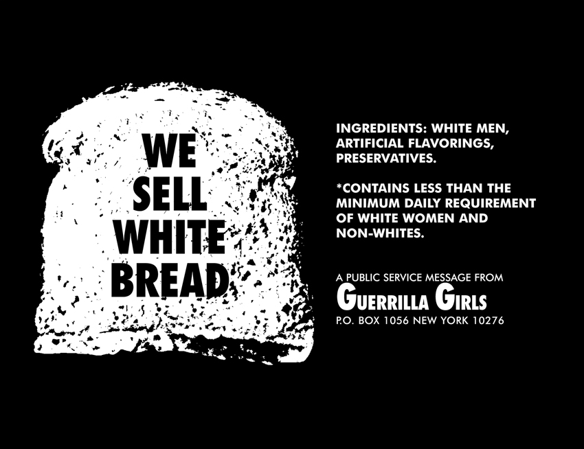 WE SELL WHITE BREAD