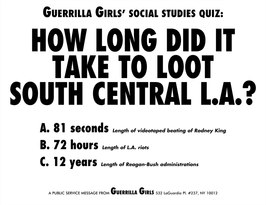 HOW LONG DID IT TAKE TO LOOT SOUTH CENTRAL L.A.?
