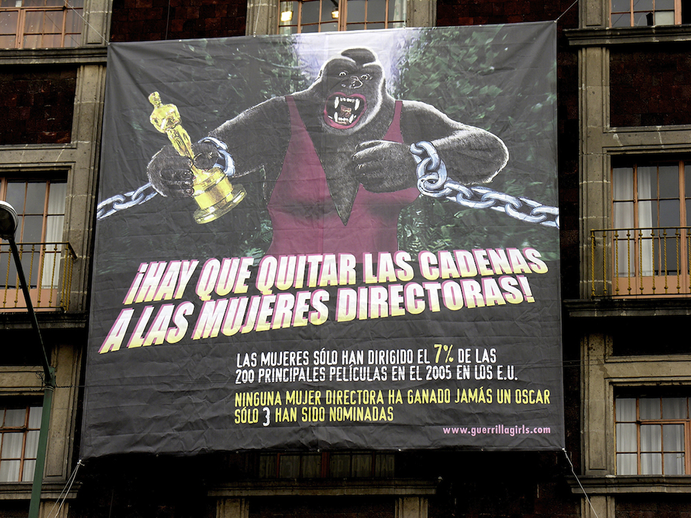 UNCHAIN THE WOMEN DIRECTORS! (SPANISH) - MEXICO CITY BILLBOARD