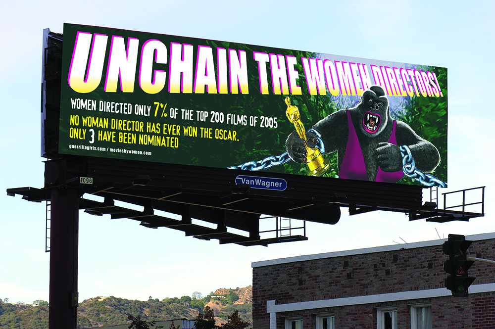 UNCHAIN THE WOMEN DIRECTORS! - HOLLYWOOD BILLBOARD