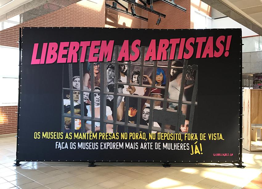 LIBERTEM AS ARTISTAS!