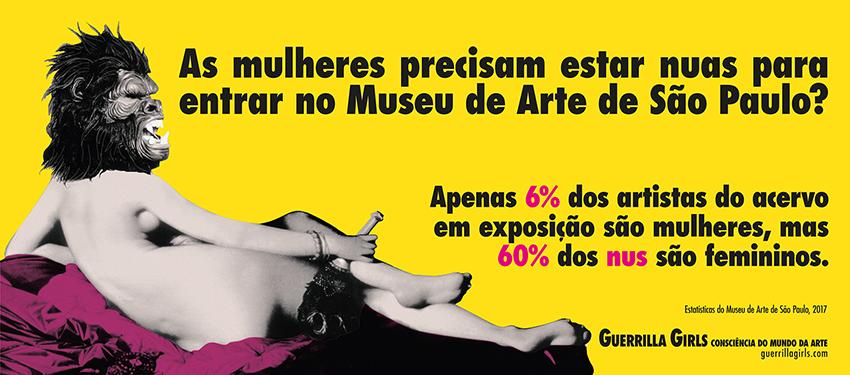 AS MULHERES PRECISAM ESTAR NUAS PARA ENTRAR NO MUSEU DE ARTE DE SÃO PAULO?