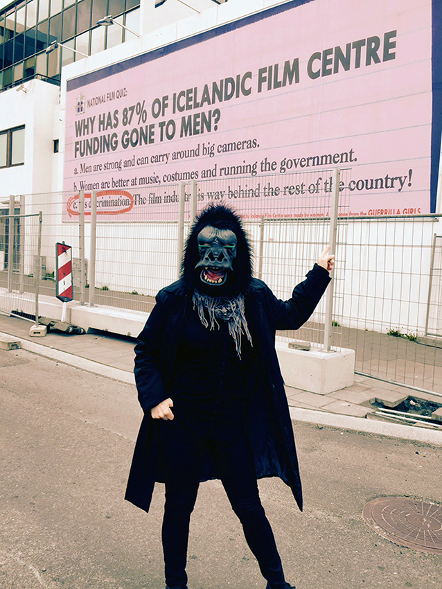 WHY HAS 87% OF ICELANDIC FILM CENTRE FUNDING GONE TO MEN?