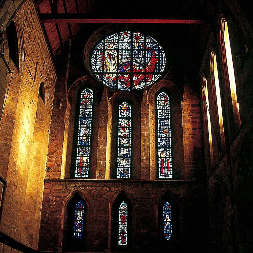Marian Window : North Wall of the North Transept