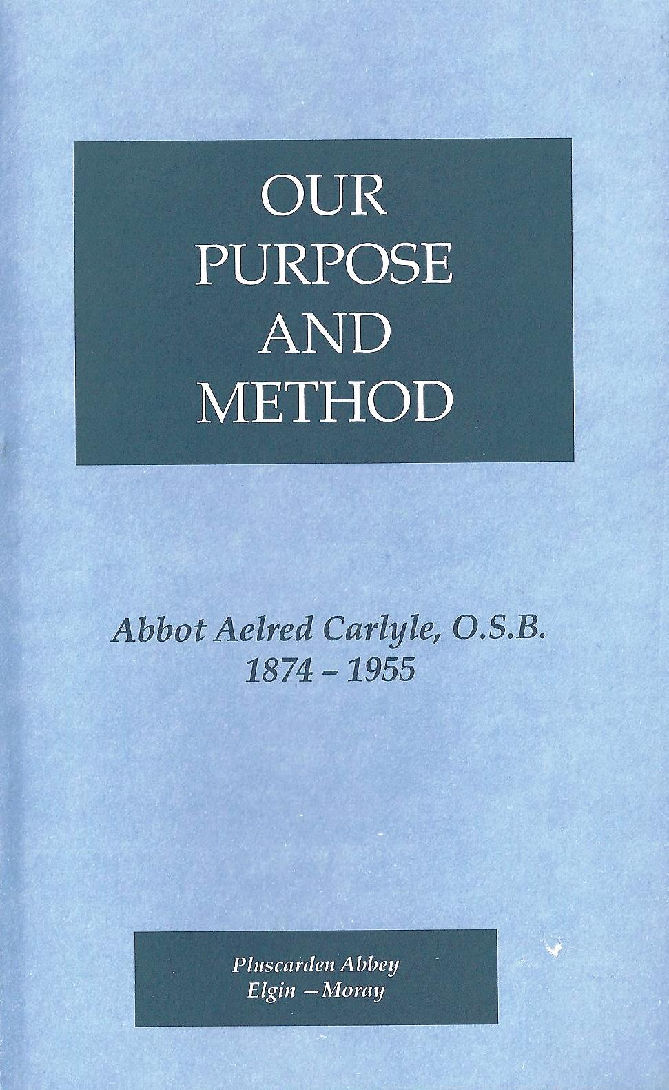 our purpose essay The purpose of life as understood by the believing muslim can be simply stated in only two (2) words: obey god our only purpose and salvation lie in these two words.
