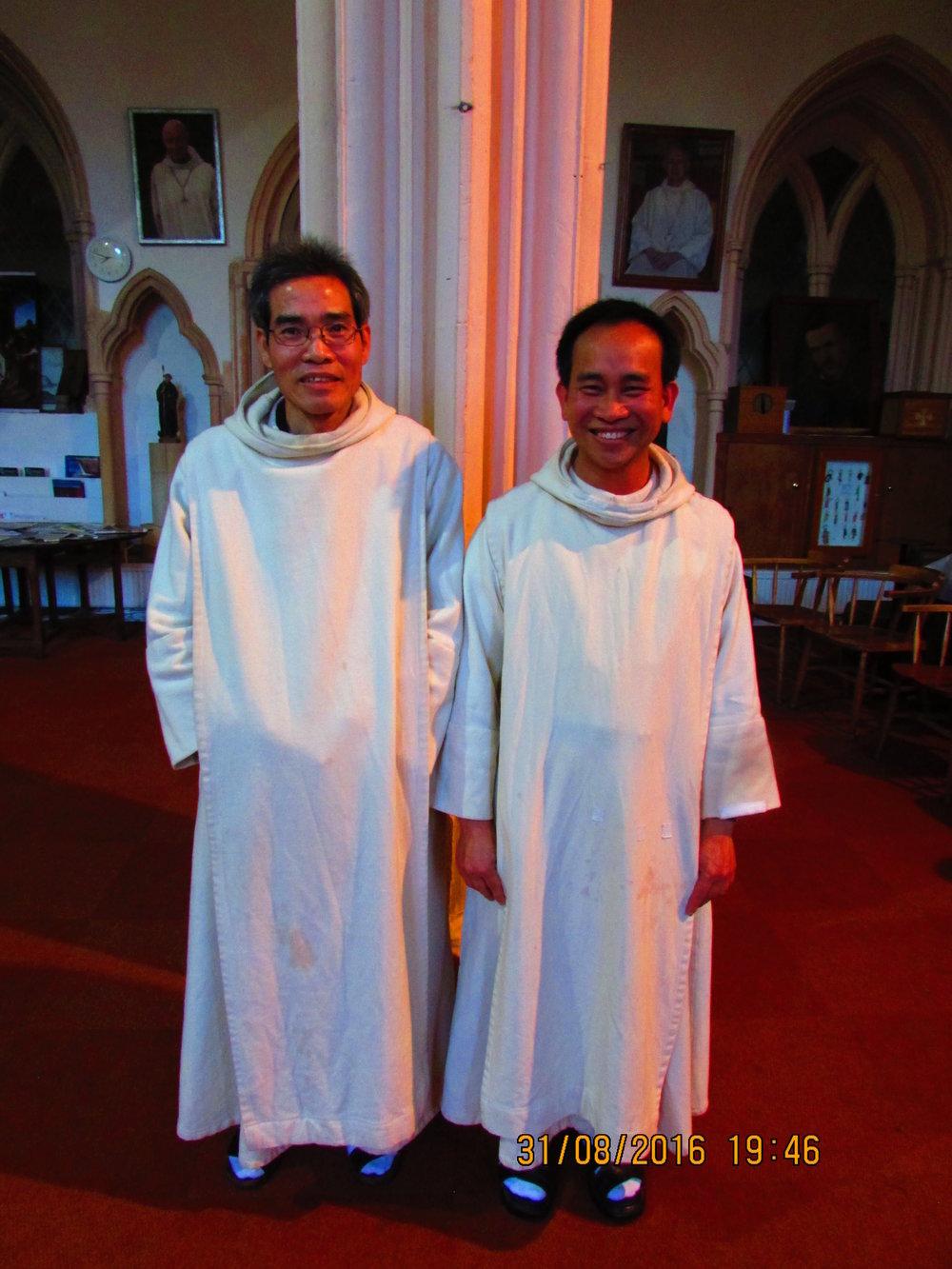 Br. John Baptist and Br. Joseph Eymard