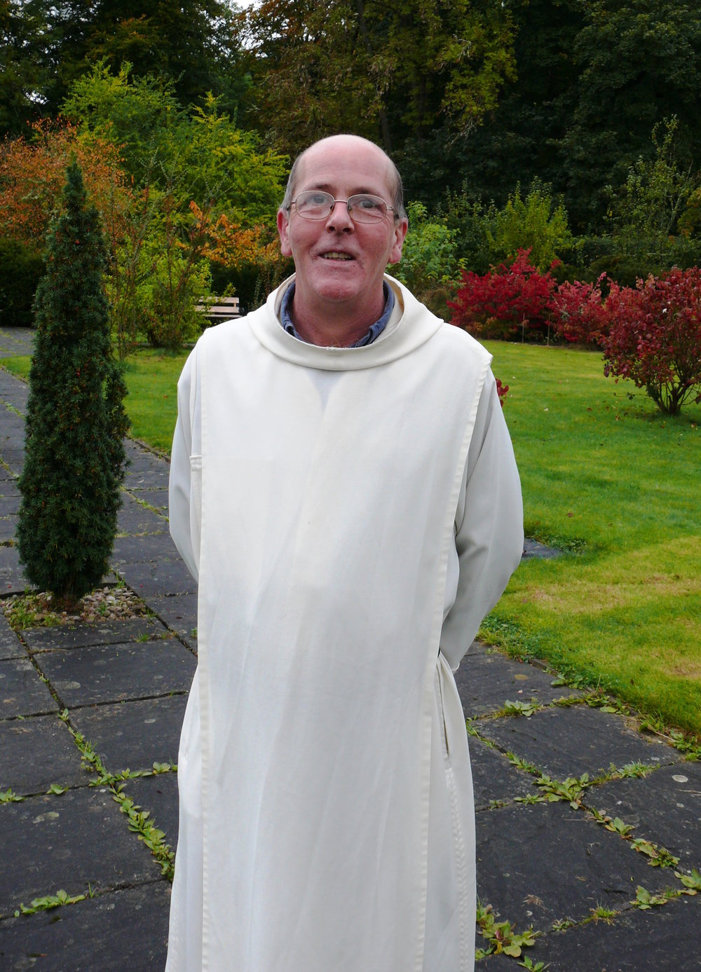 Fr. Martin McLaughlin, monk of Prinknash Abbey.
