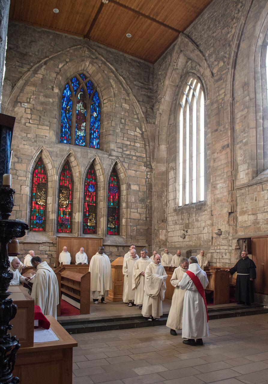 Community venerating relics of S. Amximilian Kolbe.jpg