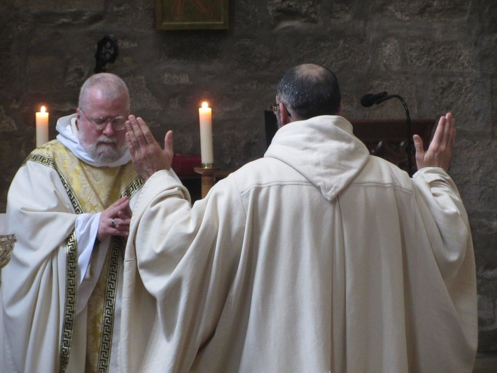 Br. Cyprian renrews his vows.jpg