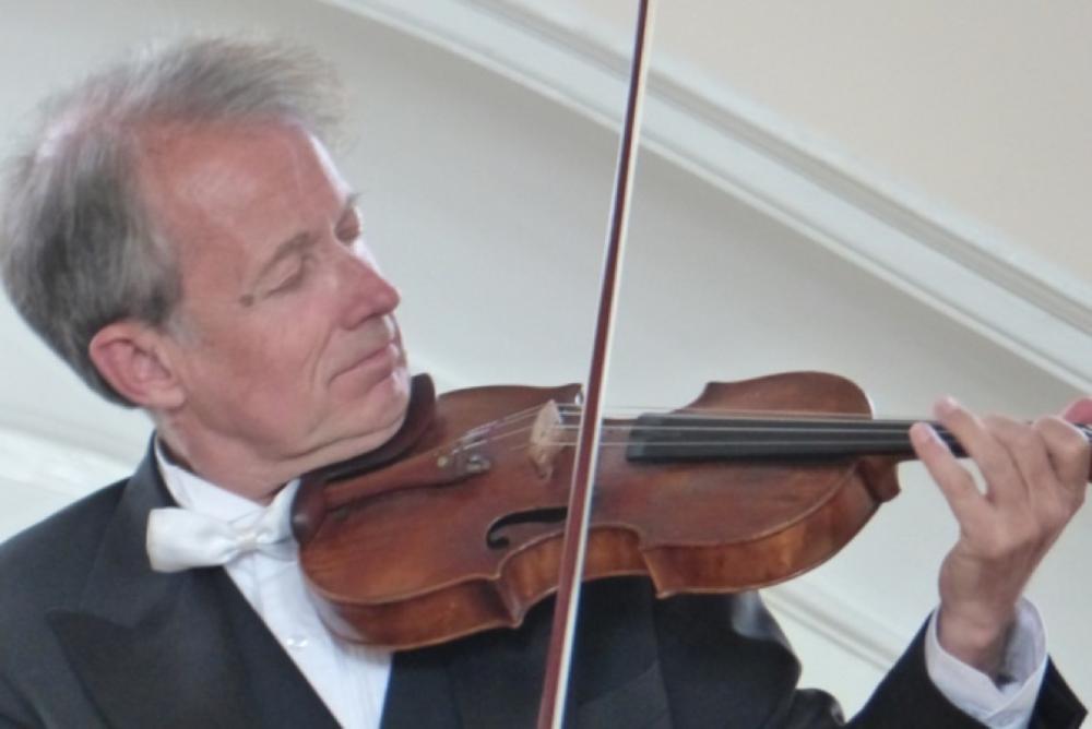 Violinist Michael Grube