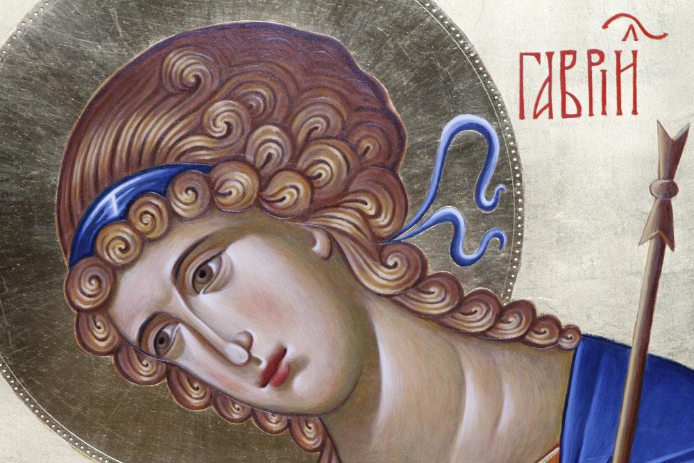 St. Gabriel (detail)