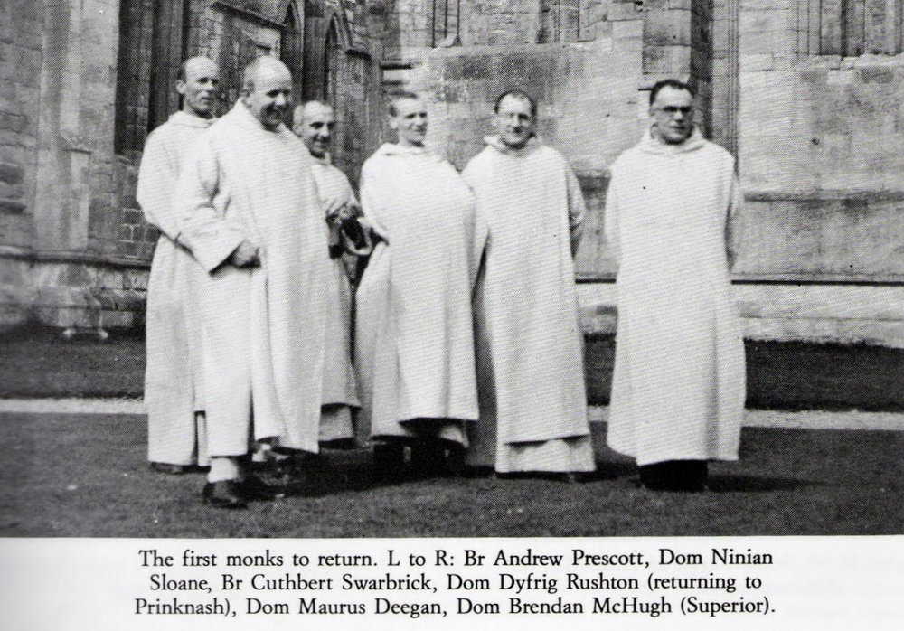 1948 pioneer monks