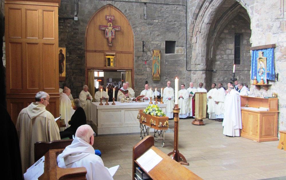 The funeral Mass for Mgr. Robert McDonald