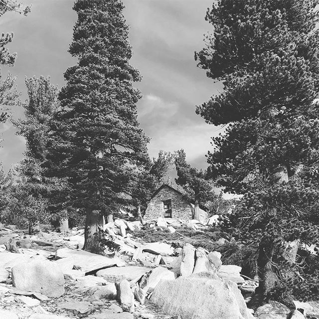Little '33 cabin in the woods @ 10k ft. Just as remote as it is close to heart of Palm Springs.