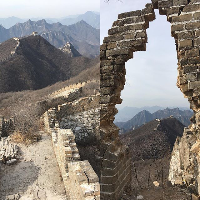 Once you see the scale of the Great Wall in person you will understand what is was used for.