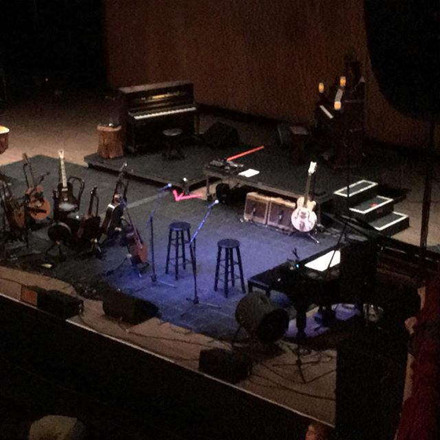 8 guitars. 4 pianos. 1 banjo. And Neil Young
