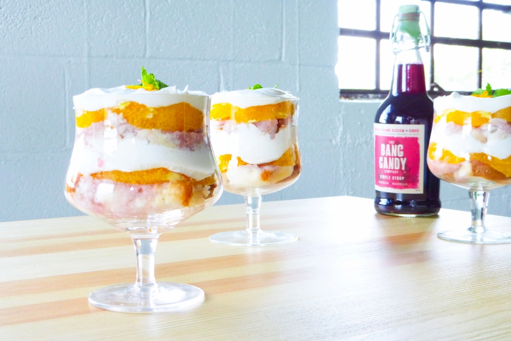 Hibiscus Orange Trifle — The Bang Candy Company