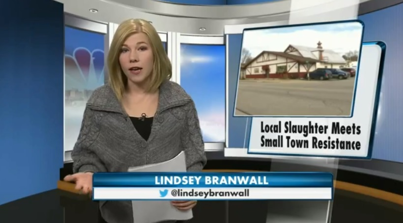 NBC 15 - Local Slaughter Meets Small Town Resistance