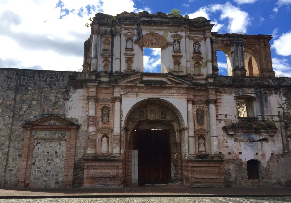 Antigua was my favorite town in Guatemala. The cobblestone streets, the ex-pat scene, the colonial hotels and restaurants, I could easily spend a few months hiding out in this little town and working on Spanish.