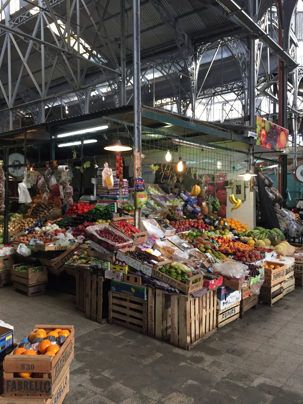 A fruit stand found in one of San Telmo's markets.