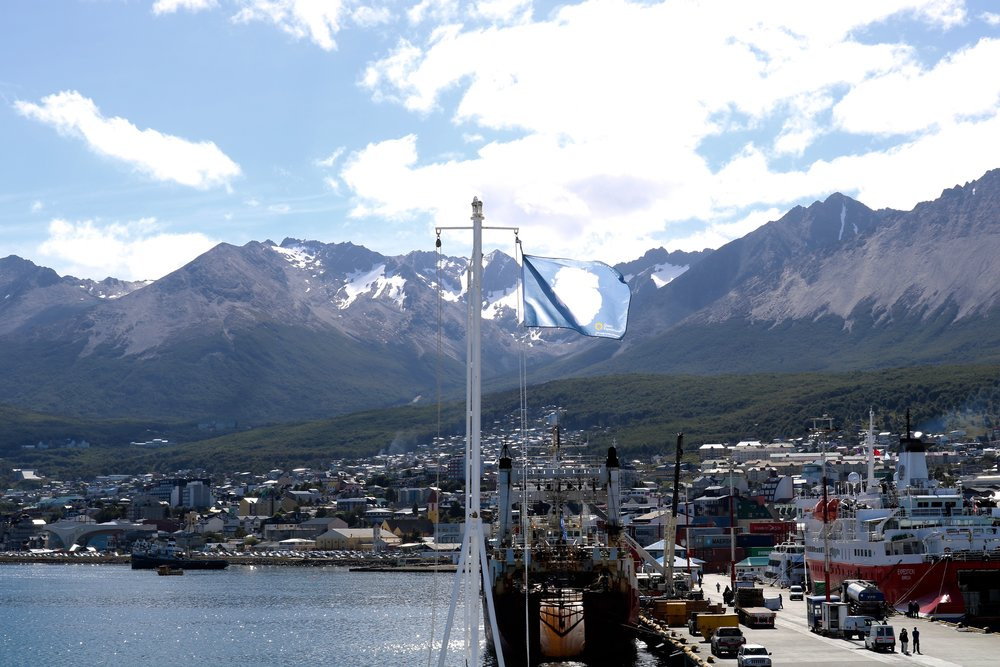 Ushuaia, Argentina is the Southernmost part of South America, as seen from the Ocean Endeavor, my home for the next 9 days.