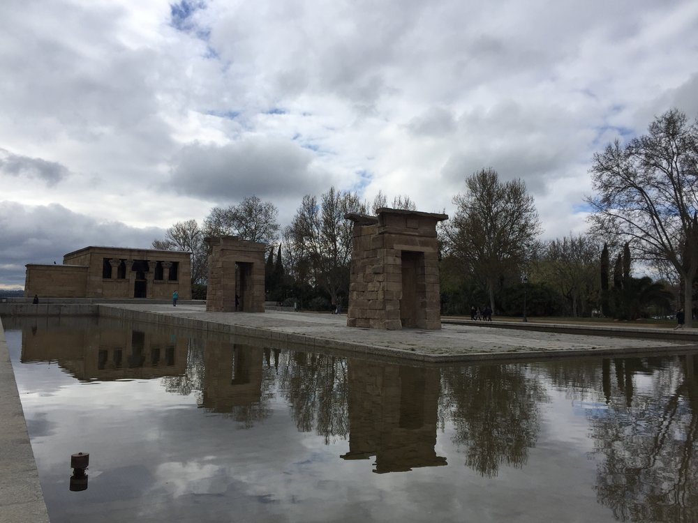 The Templo de DeBod is apparently one of the most Instagrammed sites in Madrid, so of course I had to check it out.