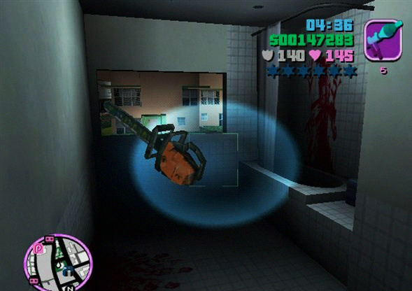 vice city chainsaw