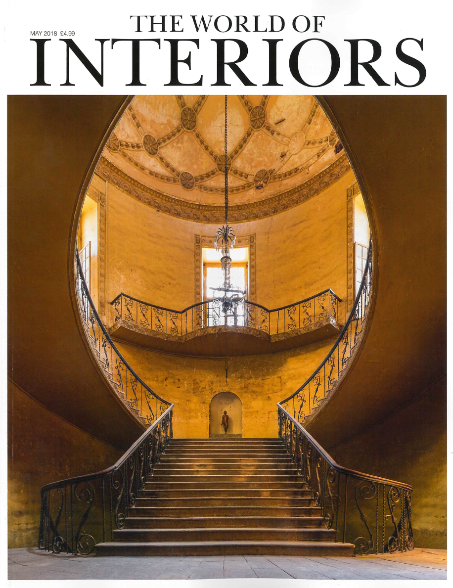 THE WORLD OF INTERIORS MAGAZINE MAY 2018