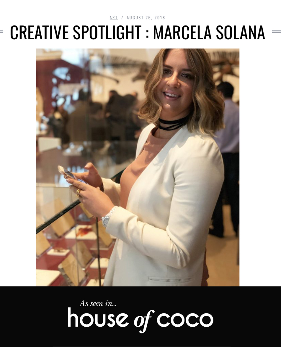 HOUSE OF COCO ONLINE INTERVIEW