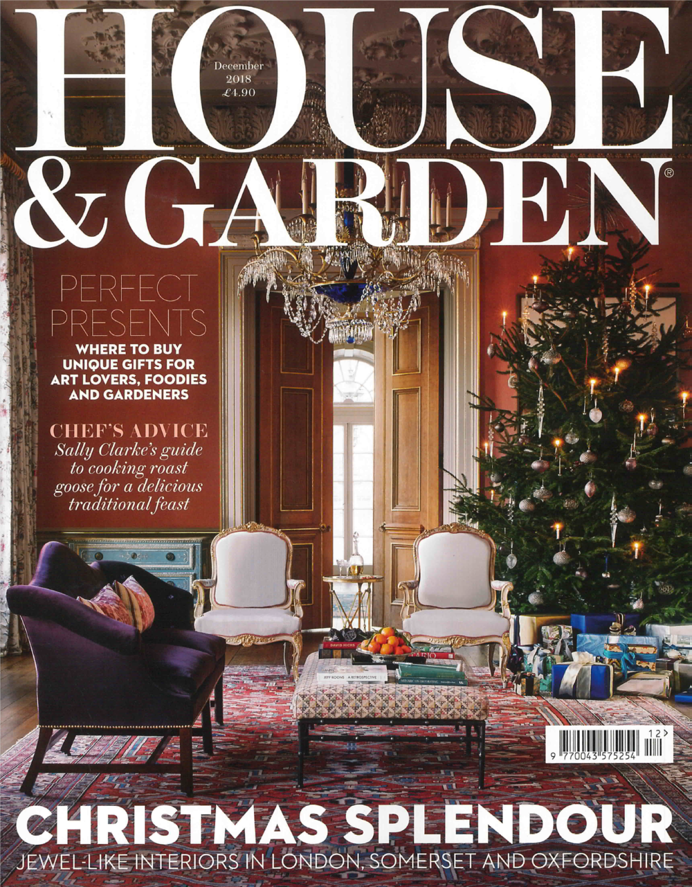 HOUSE & GARDEN UK MAGAZINE DECEMBER 2018