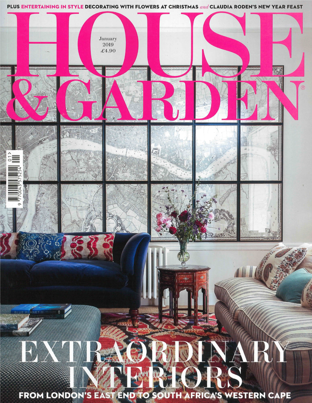 HOUSE & GARDEN UK MAGAZINE JANUARY 2019
