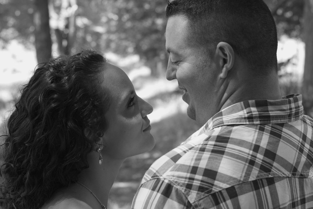 My husband and I. He looks at me like that every day, with love and affection. Why is that not enough for me to believe I am beautiful?  PC: Kevin Mahoney