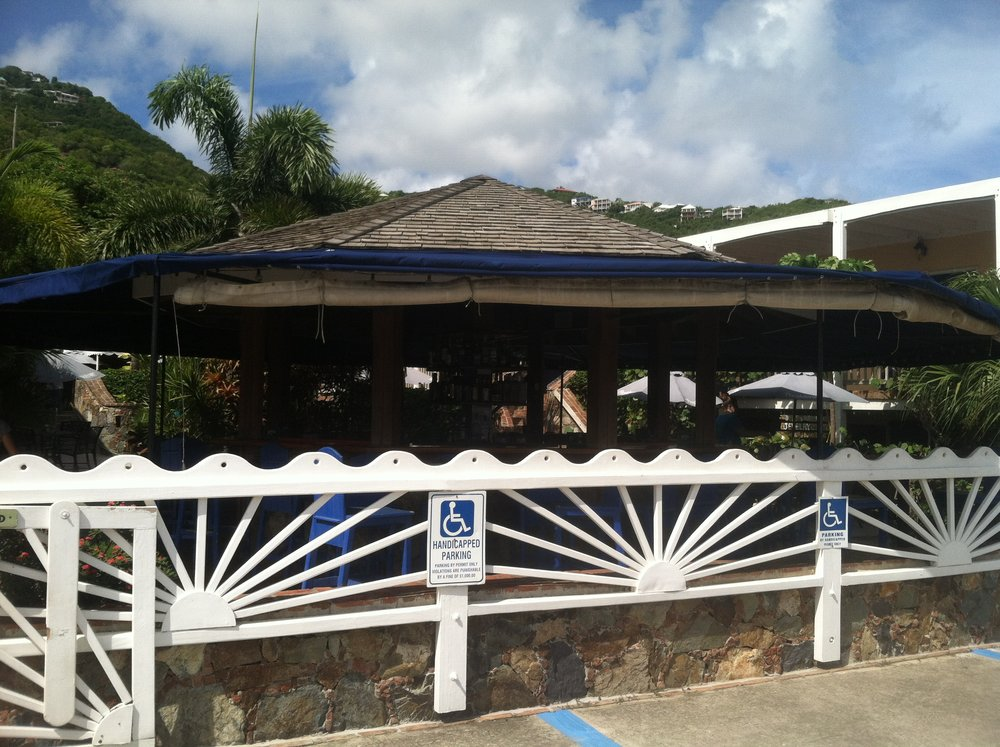 Aqua Bistro in St John USVI. The perfect place to refuel after a long day of fun in the sun.