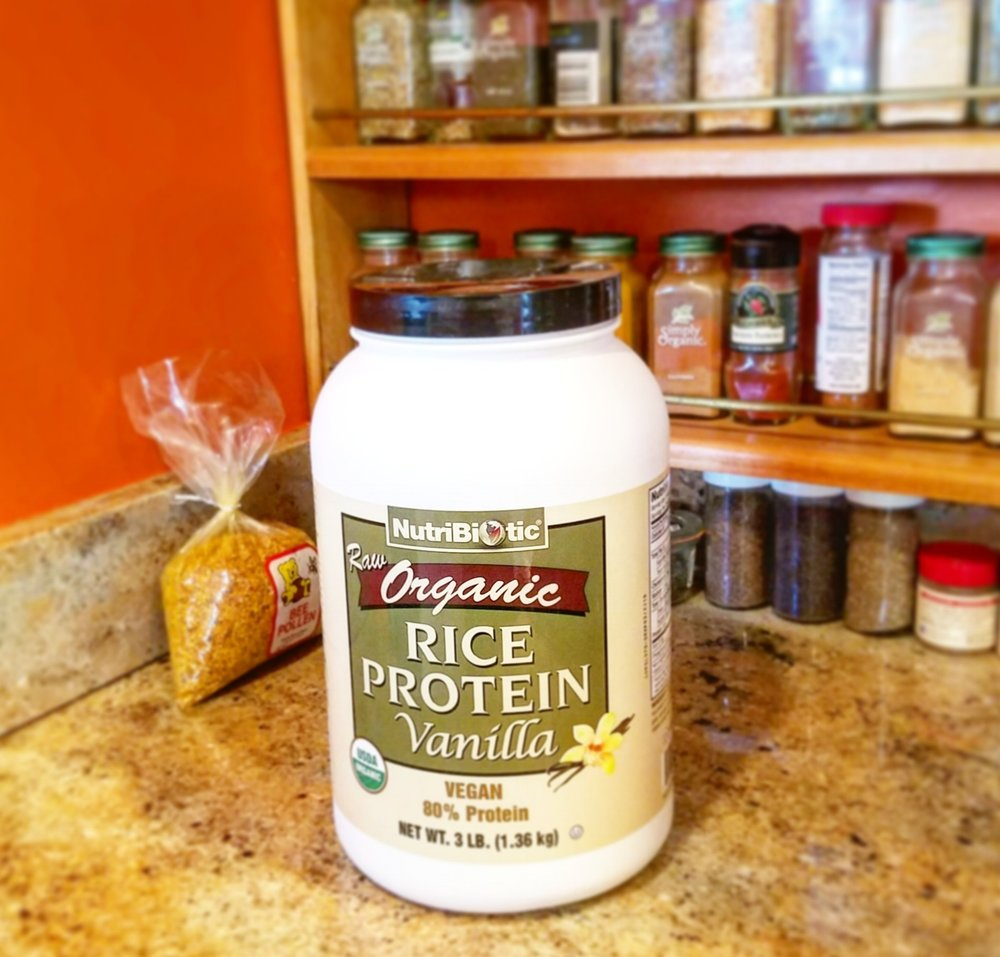 This is my favorite protein. It is organic, plant based, with a neutral taste and 20g of protein per tablespoon.