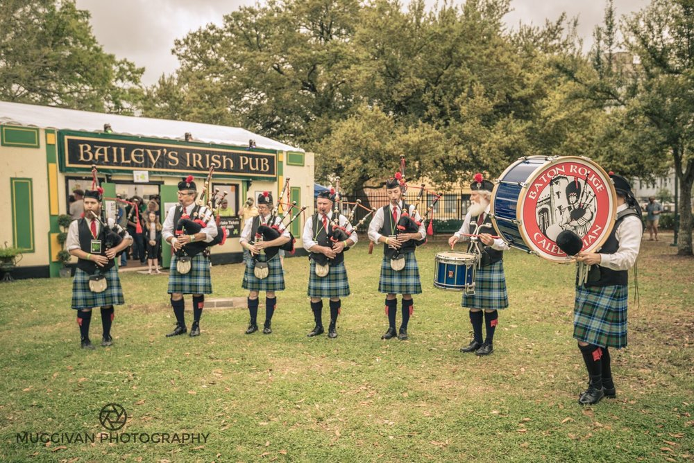 THE BATON ROUGE CALEDONIAN PIPES & DRUMS