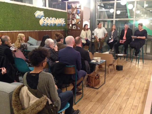Attendees enjoyed a panel discussion on the parallels between business entrepreneurs and artists.
