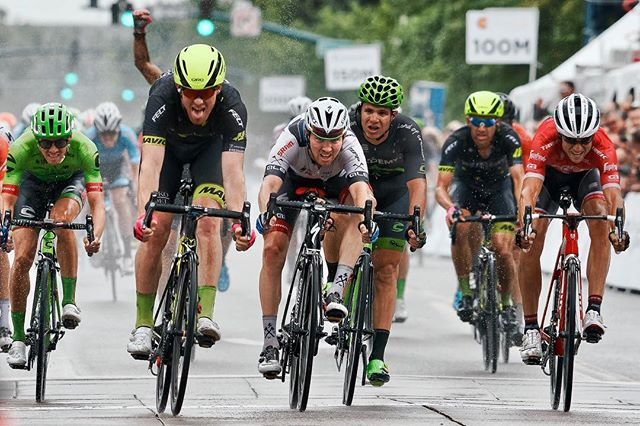 Happy with 3rd today and Best Young Rider on stage 1 of @coloradoclassicpro! The legs are definitely there and will be looking for the W in the next 3 days! Congrats to @thejpmurph on a beastly sprint for the win. @daveywilson with the sick 📷.