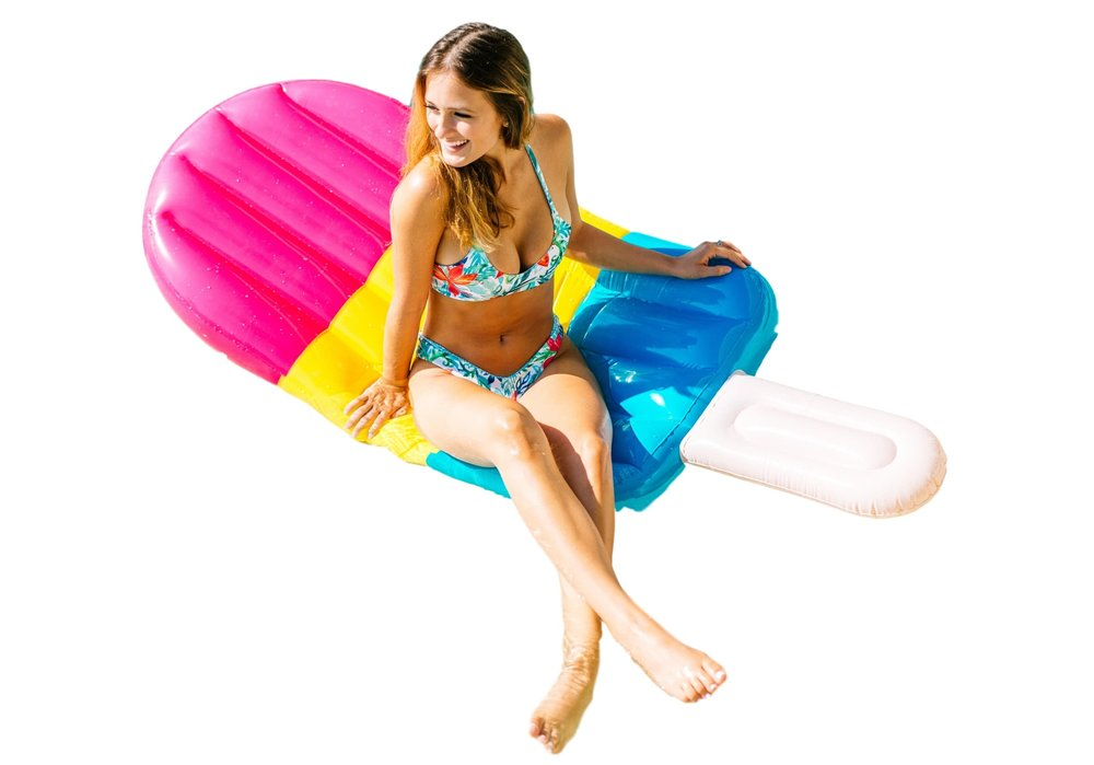 Giant Popsicle Float