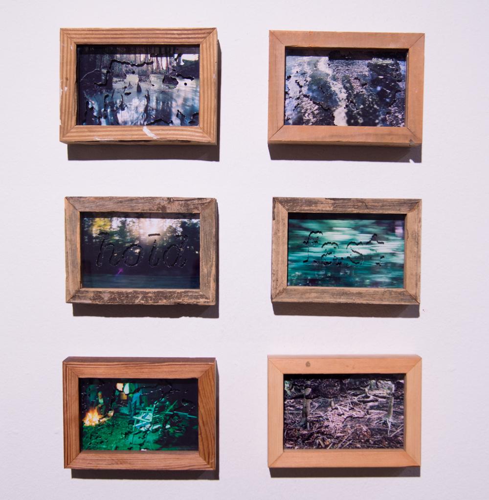 Photo Dioramas (install view)