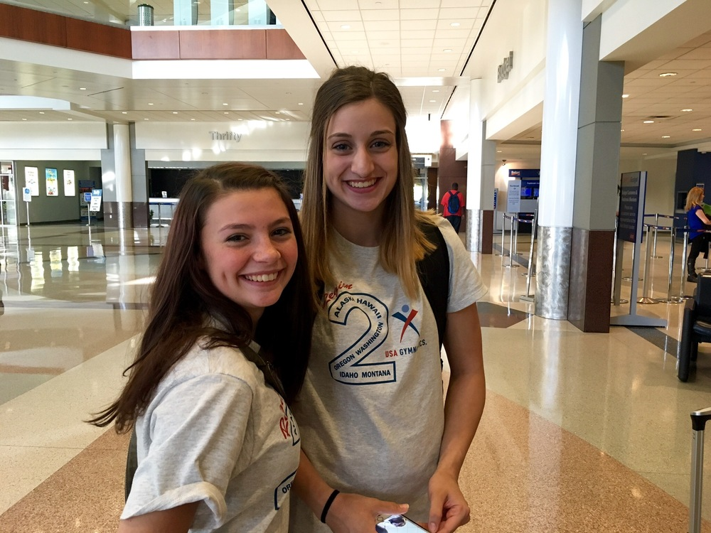 Taylor Weber and Emily Wilson travel to Texas to compete in Level 10 Nationals!
