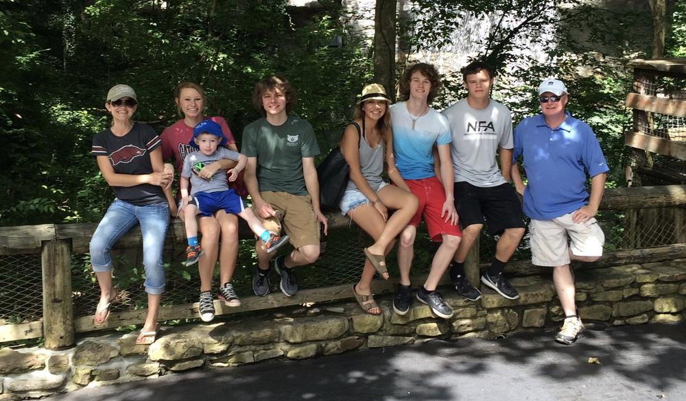 Group shot at Silver Dollar City!