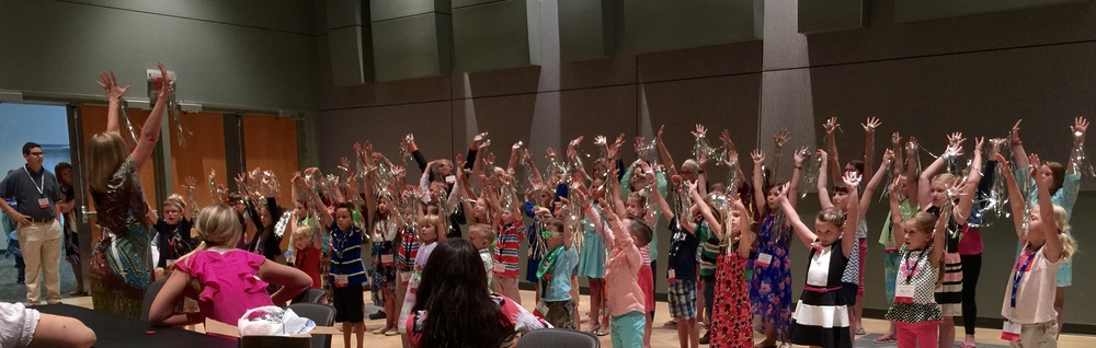 Children's choir practice was one of the highlights of my trip.