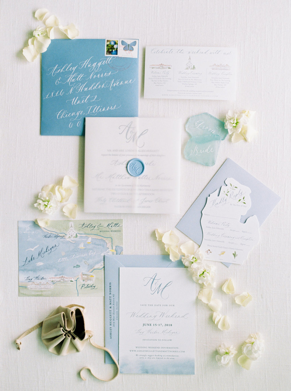 Invitations set the tone. Beautiful Invitations set expectations.  -