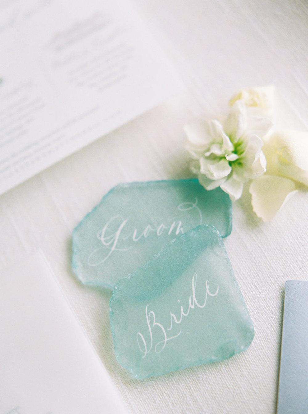 Watercolor Michigan Wedding Invitations