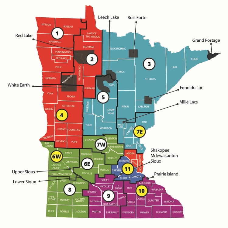 Service Area Child Care Aware Of Mn West Central District