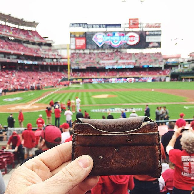 Happy Opening Day! First @FieldersChoiceGoods MLB shot of the season. #mbcoopeningday