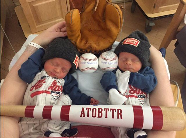 Welcome Easton and Noah to the world! Congratulations Mr. and Mrs. @hindsnr #ATOBTTR