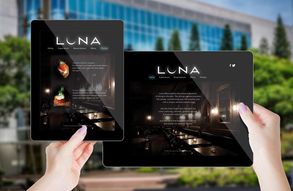 Luna, Dine in the Dark