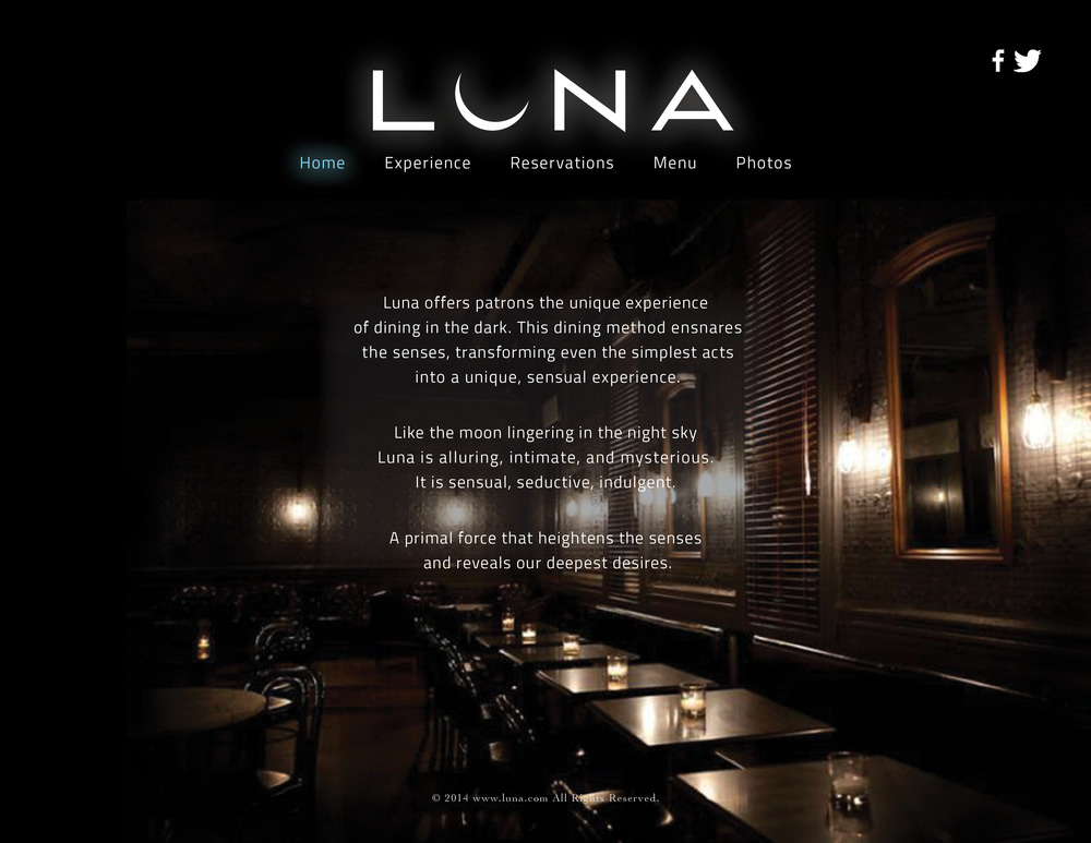 Luna Website Design