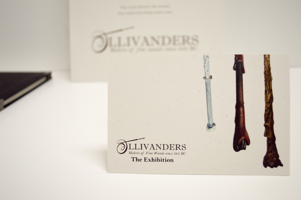 Ollivanders Post Card